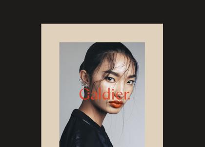 Galdier Advertisement Poster