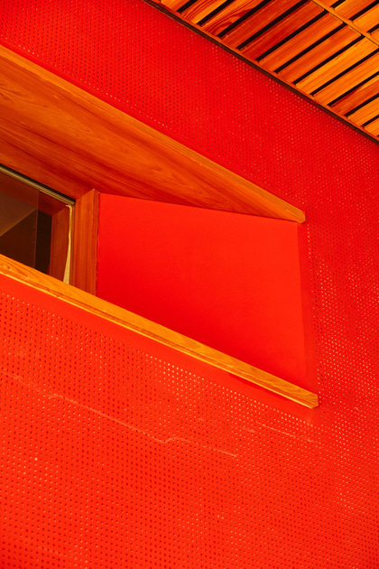 Red Interior Design Photography