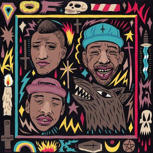 Saddo – Favorite Rapper Portraits Mosaic Collage Illustration – Odd Future
