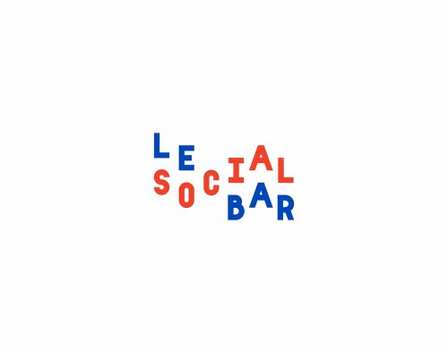 Le Social Bar Paris – Identity and Branding Design
