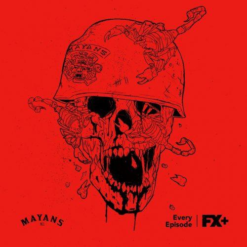 Mayans Motorcycle Club Social Campaign – Skull