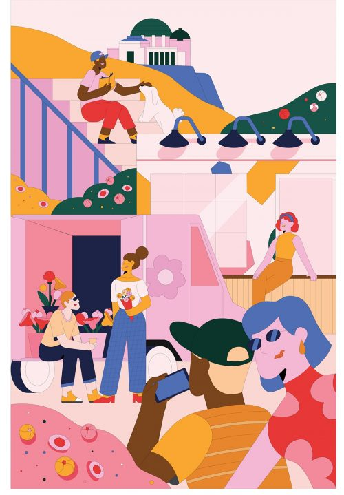 Jiaqi Wang – Various Illustrations
