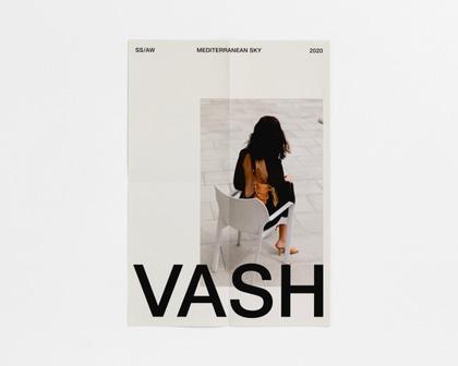 VASH minimal magazine cover