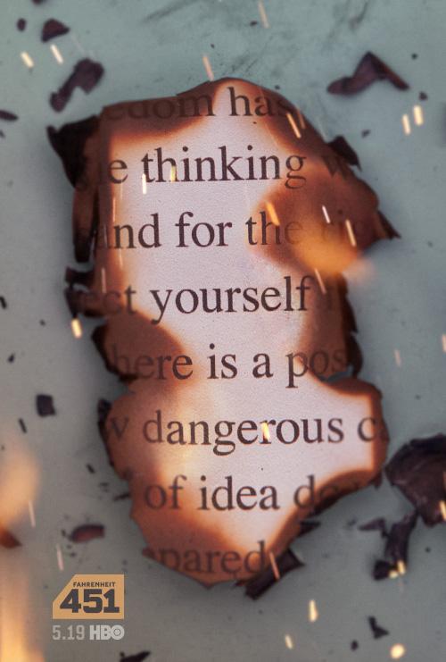 Key Art by Jason Burnam – Fahrenheit 451 – Thinking For Yourself is Dangerous