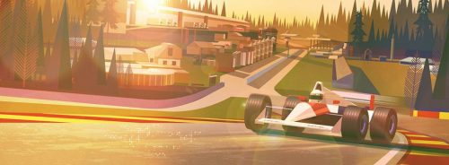 James Gilleard Illustrations – Race Tracks