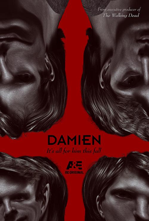 Damien – Distorted Key Art by Jason Burnam