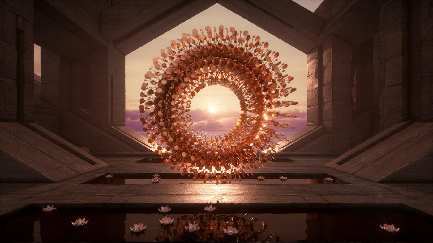 Fabian Aerts – Cykes – 3D circles