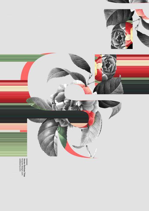 Modern Floral Poster Design