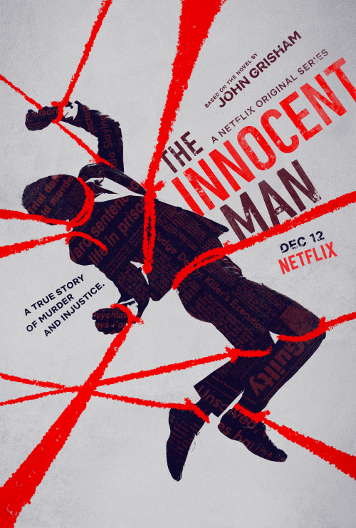 Saul Bass Inspired Key Art by Jason Burnam – Innocent Man