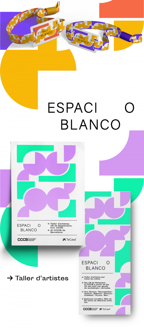 ESPACIO BLANCO minimal brutalist design