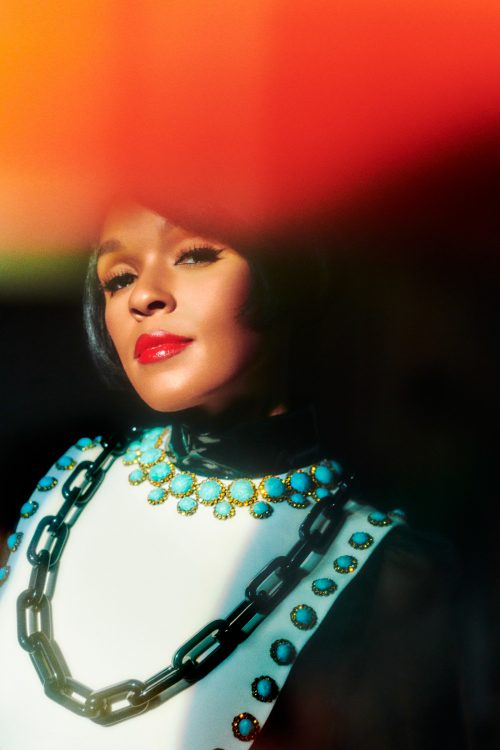 JANELLE MONAE for THE CUT Creative Retro Style Portrait Photography