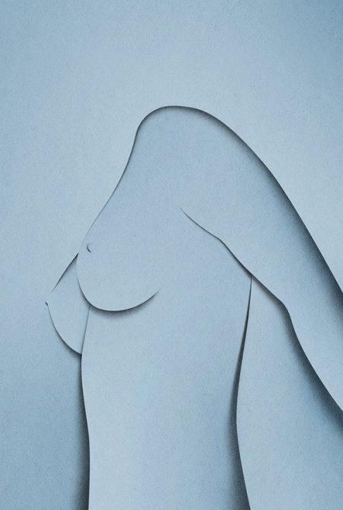 Naked Paper Craft Cutouts