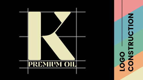 K CBD Premium Oil Soft Color Palette Style guide Packaging Design