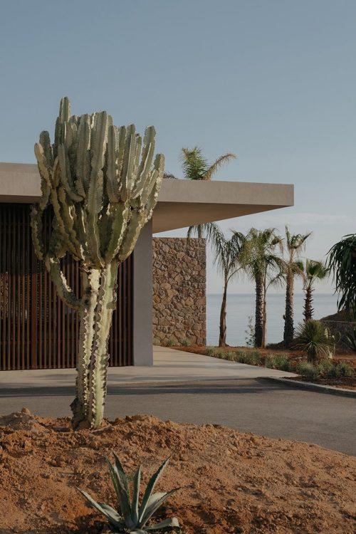 casa cook hotel's interlocking villas in chania, greece – architectural photography