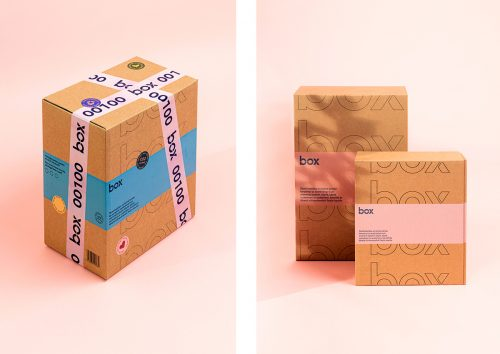 Posti Box Packaging Design