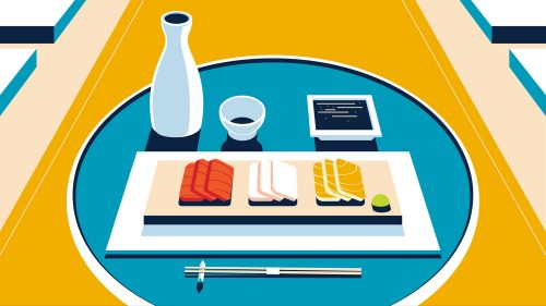 Illustrations by Colin Hesterly – Sushi