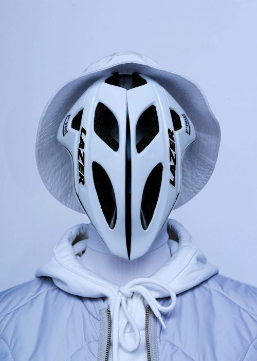 A Creative Alternative Take on Quarantine Covid-19 Coronavirus Masks – Bike Helmet