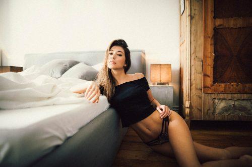 Seductive Bedroom Underwear Intimate Photography