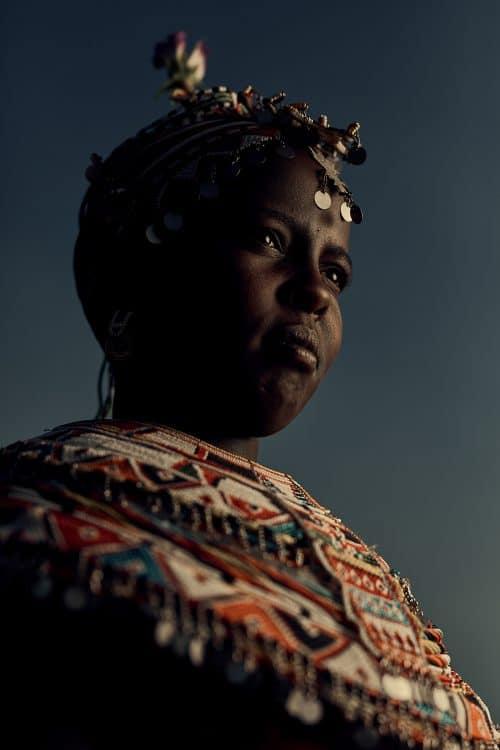 Samburu Tribe Kenya, Africa Portrait Photography Traditional Garbs