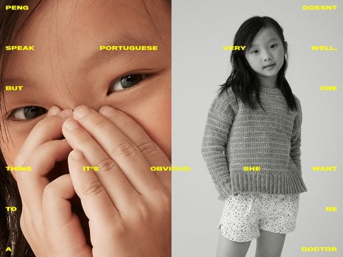 kids day campaign fashion lifestyle color and black and white photography