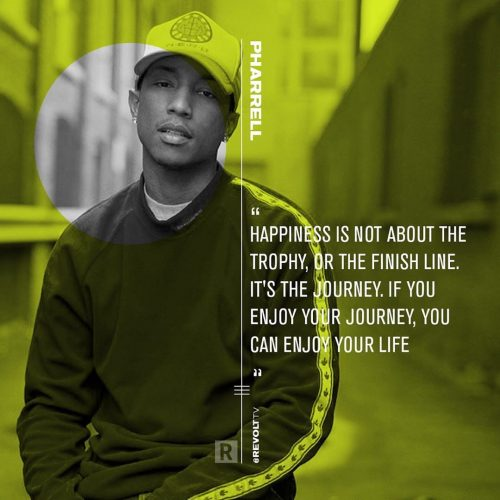 Revolt TV Social Campaign – Quote Cards – Pharrell