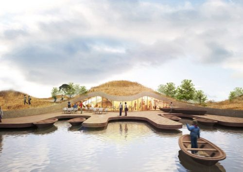 Architectural Design Madam Fishermans Wharf Pavilion China