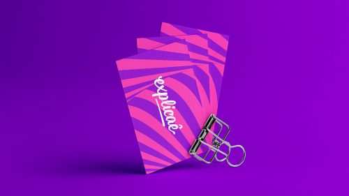 Playful and Colorful Visual Branding Design that's Social First