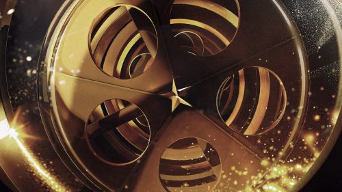 88th Annual Oscars in Hollywood – Golden Main Title Style Frames – 3D C4D