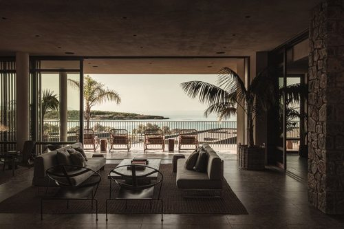 casa cook hotel's interlocking villas in chania, greece – architectural photography  ...