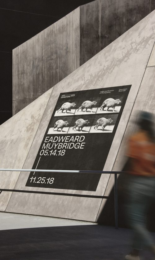 University of California Riverside Museum of Photography – Brutalist Style Art Direction P ...