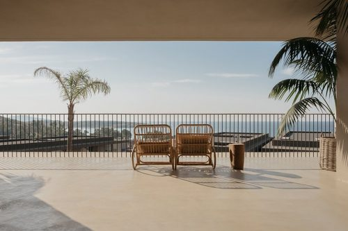 casa cook hotel's interlocking villas in chania, greece – architectural photography