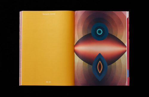 romance journal magazine editorial illustrated design layout