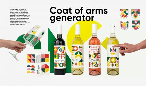Fathers Wine Identity & Packaging Design