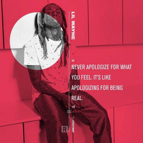 Revolt TV Social Campaign – Quote Cards – Lil Wayne