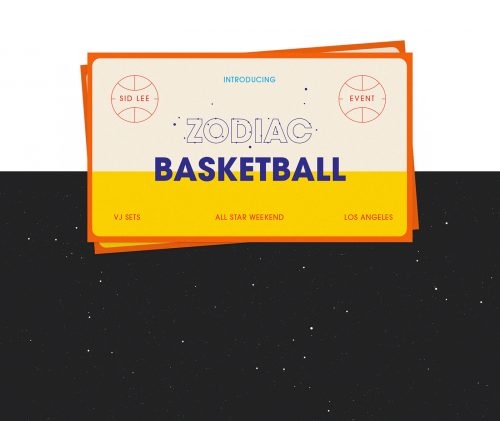Zodiac Basketball – All Star Game 18′ Illustrations