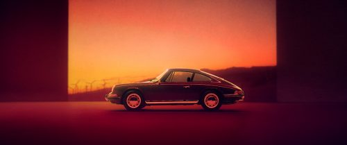 Porsche 911 Automobile Car Sunset Landscape Photography