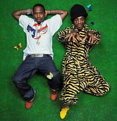 Classic Hip Hop Photography – Big Boy and Andre 3000 – Outkast