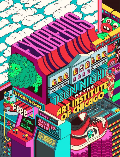 Illustrations by Dave Arcade – Retrowave Retro Style