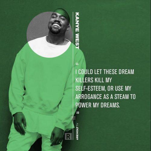 Revolt TV Social Campaign – Quote Cards – Kanye West