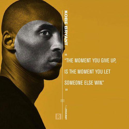 Revolt TV Social Campaign – Quote Cards – Kobe Bryant