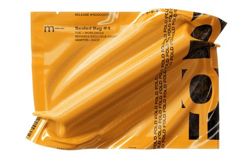 Sealed Bags – Typographic Packaging Design