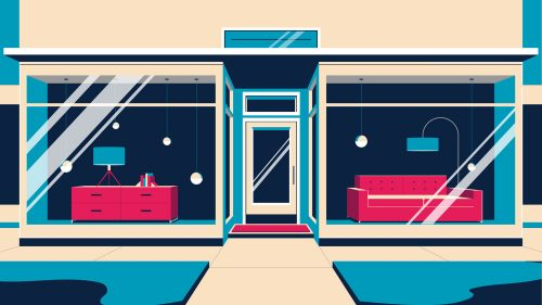 Illustrations by Colin Hesterly – Storefront