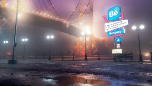 Antisocial Social Media 3D Night Renderings – Behance