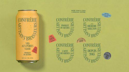 Brewers – Confrérie Artisans Brasseurs Branding Design