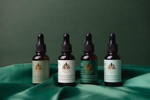 New Horizons – Cannabis healing Marijuana CBD Oil Packaging Design