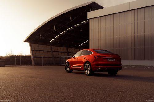 Audi e-tron Sportback Luxury Sport Vehicle Automobile Car Photography