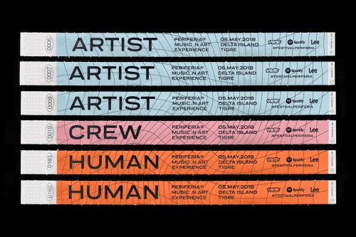 Festival Periferia Music in Art Experience – Wristbands