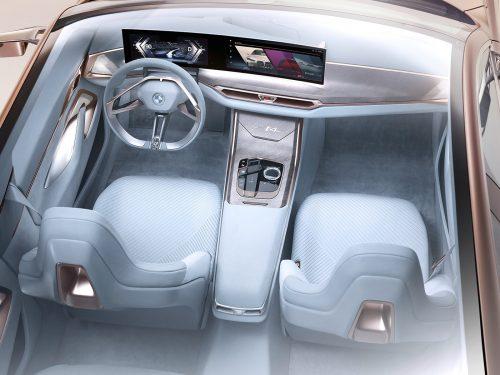 BMW i4 Concept Studio Automobile Car Photography
