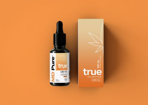 MD Pure CBD Packaging Design Photography