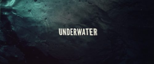20th Century Fox Underwater Title Sequence Style Frames